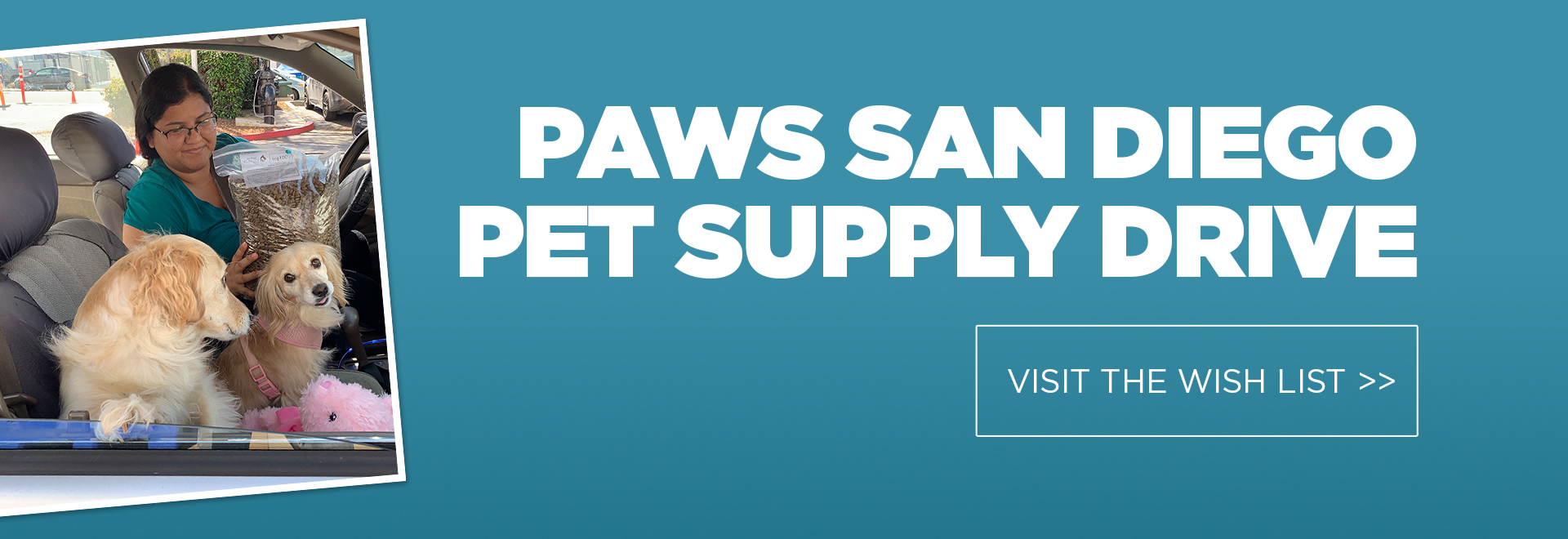 PAWS Supply Drive
