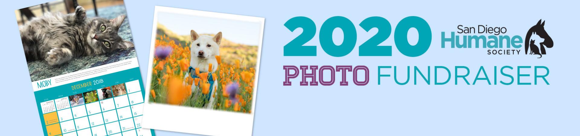 Photo Fundraiser Banner, Calendar